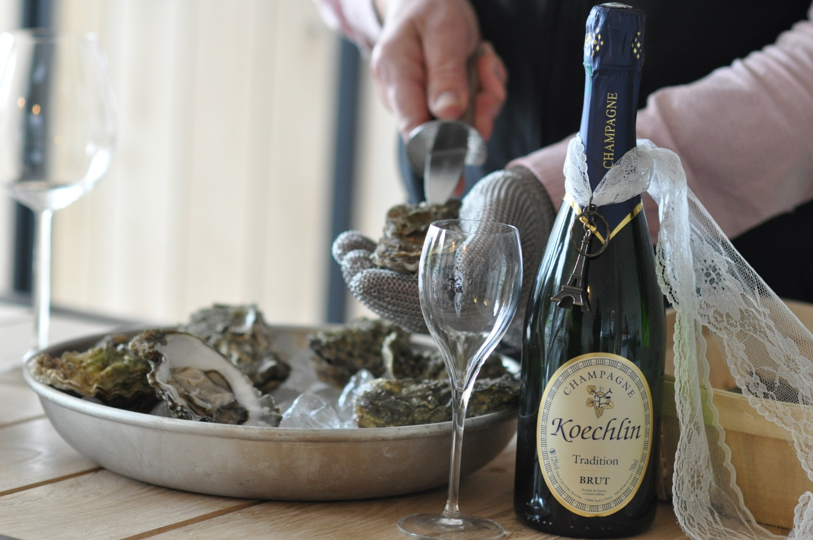 Oesters & Champagne